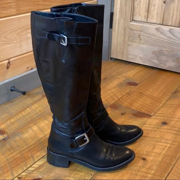 Cole Haan Shoes   Vibram Black Leather